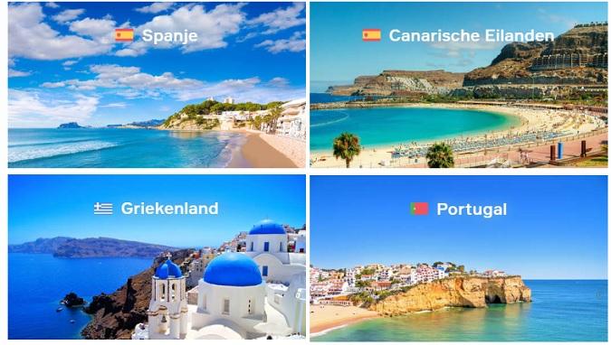 Europese vakantiebestemmingen